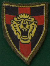 11 Belgium 1st Infantry Division Shield (Silk)